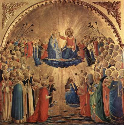 Fra_Angelico_coronation of Mary