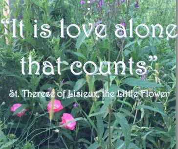 Love alone counts