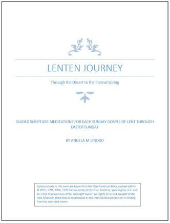 Lenten Journey pic