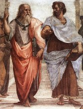 Plato and Aristotle_Raphael
