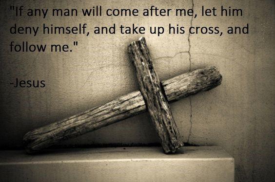 taking up cross