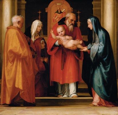 Presentation of Jesus_Fra_Bartolomeo_Wikimedia