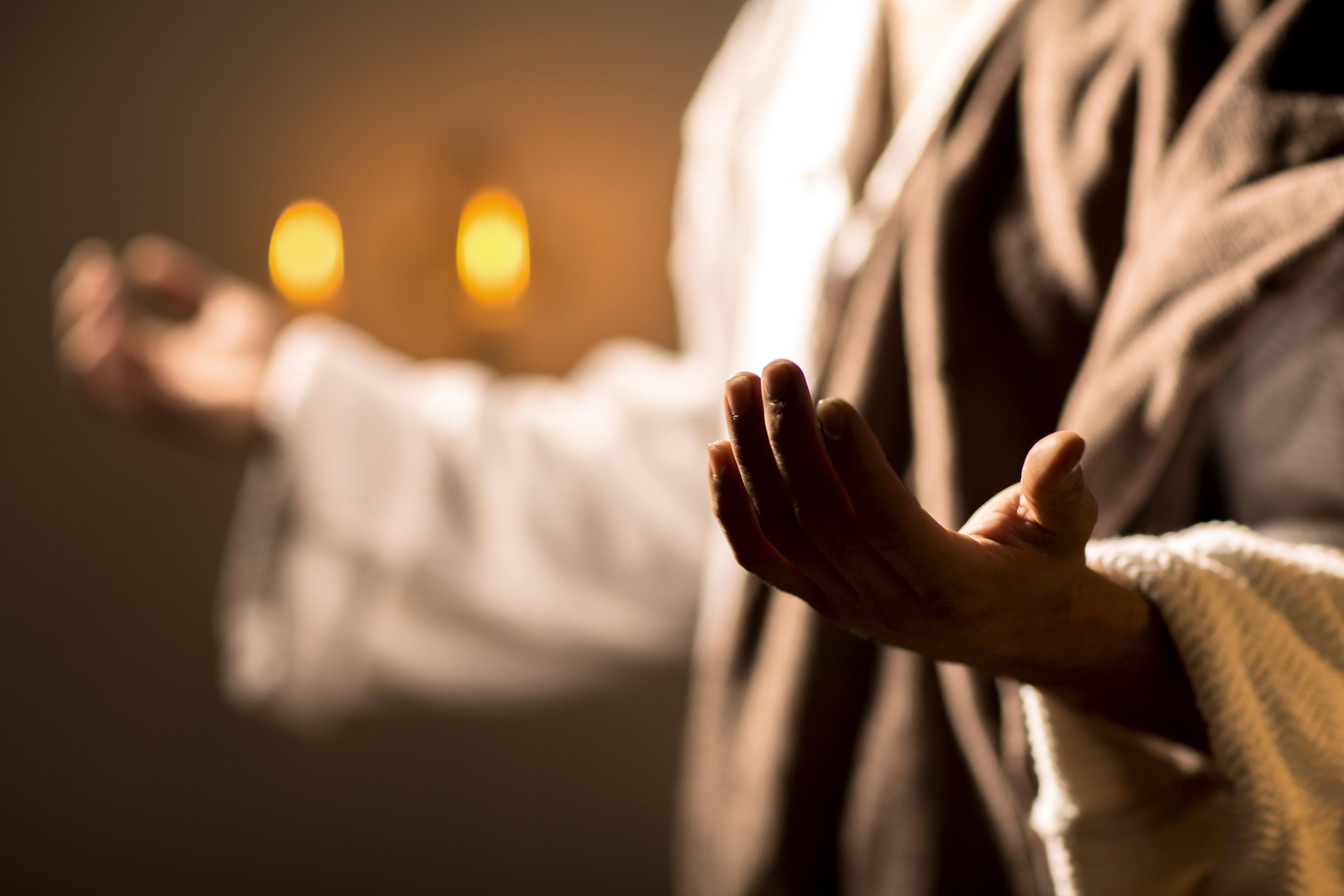 Christ at prayer